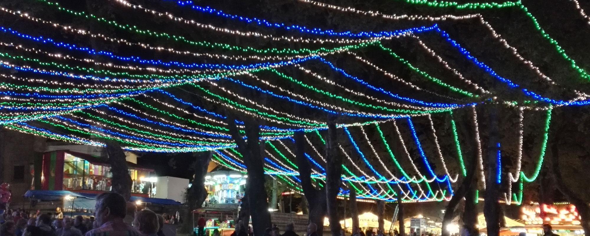 iluminaciones para fiestas