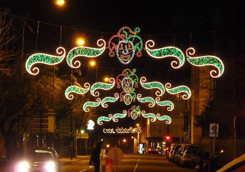 Iluminación para carnavales