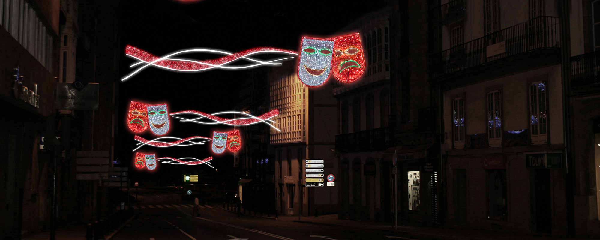 Iluminación Para Carnaval